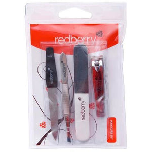Redberry Manicure Set 4pk