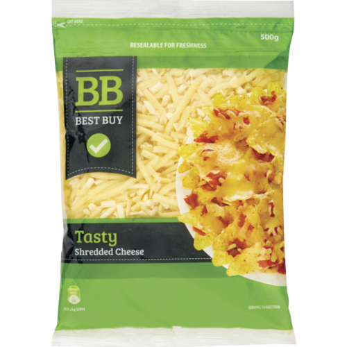 Best Buy Tasty Shredded Cheese 500g