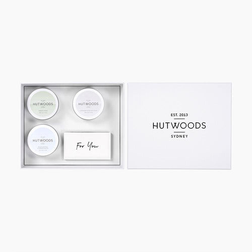 Hutwoods Trio Travel Tin Gift Box