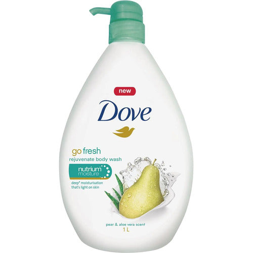 Dove Body Wash Hydrating Pear and Aloe Vera 1L