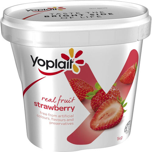 Yoplait Yogurt 1kg - Strawberry