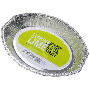 Large Oval Foil Tray 46x33.5x7.5
