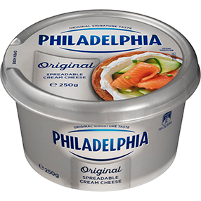 Philadelphia Original Spreadable Cream Cheese 250gm