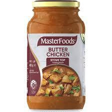 Masterfoods Sauce Simmer Butter Chicken 485gm