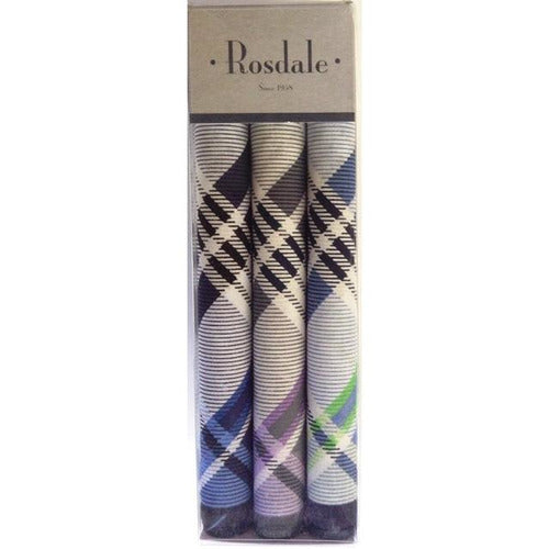 Men's 3 Pack Handkerchiefs