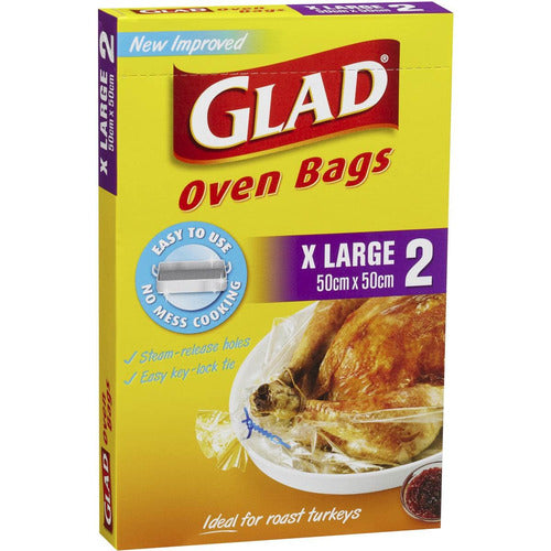 Glad Oven Bags XL 2 pk