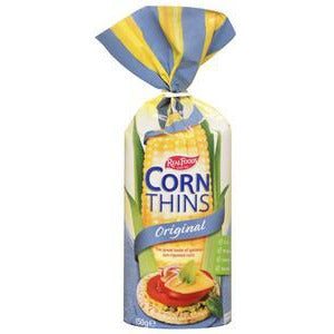 Real Foods Corn Thins 150g - Original