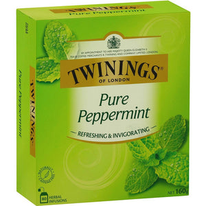 Twinings Pure Peppermint Teabags 80 pk