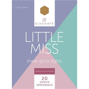 Little Miss Gloss Tights Bronze Glow
