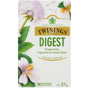 Twinings Digest 18 pack