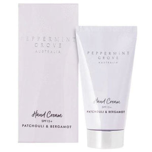 Patchouli & Bergamot Hand Cream Tube