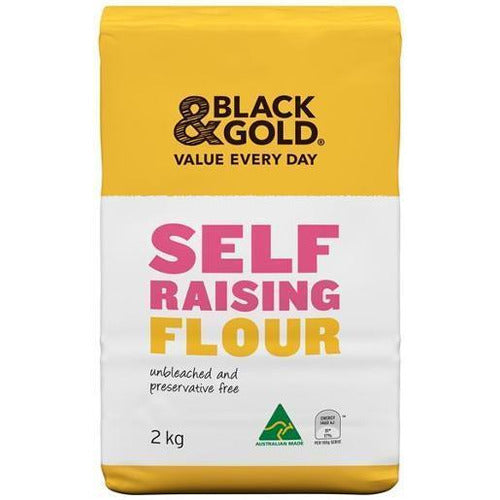 Black & Gold Self Raising Flour 2kg