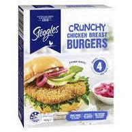 Steggles Crunch Burger 340g
