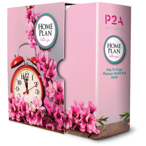 2020 Homeplan Refill Pack – Day to page layout
