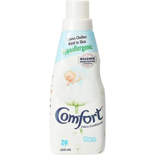 Comfort Fabric Conditioner Hypoallergenic Pure 400ml