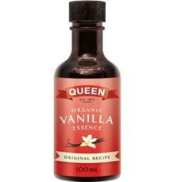 Queen Organic Vanilla Essence 100ml