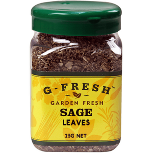 G-Fresh Herbs & Seasonings - Sage Leaves 25g