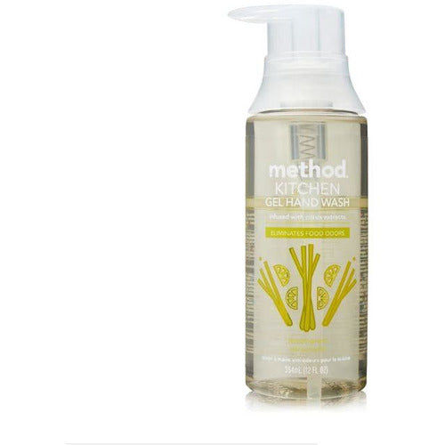 Method Kitchen Gel Hand Wash 354ml - Lemon Grass
