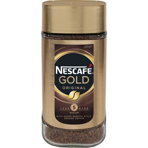 Nescafe Gold Original Instant Coffee 200g