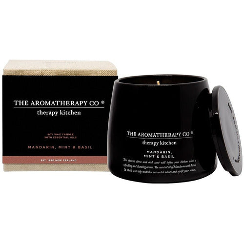 Therapy Kitchen Candle - Mandarin, Mint & Basil