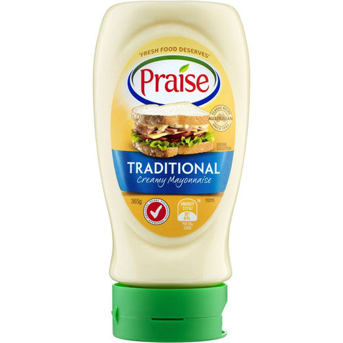 Praise Traditional Squeeze Mayonnaise 370g