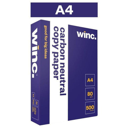 Winc Copy Paper A4 80gsm White
