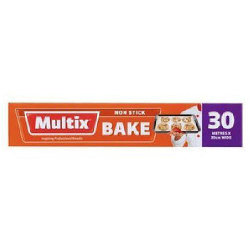 Multix Baking Paper 30cm Wide - 30M