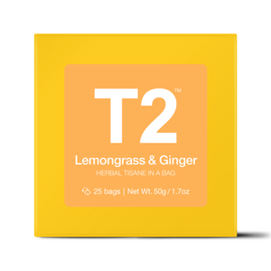 T2 - 25 Pack - Lemongrass/Ginger