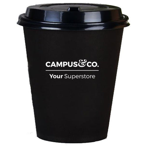 Campus & Co Printed Single Wall 8oz Coffee Cup x 50