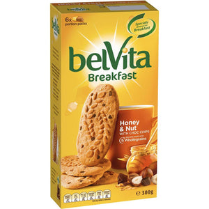 Belvita Honey & Nut Breakfast Biscuits 300g