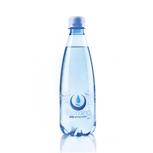Nu Pure Sparkling Water 500ml