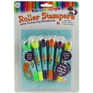 Kaleidoscope Roller Stamper & Colouring Book