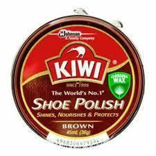 Kiwi Shoe Polish - Brown - Paste 36gm