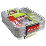 Foil Trays Value Pack - 20 Pack