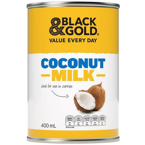 Black & Gold Coconut Milk 400ml