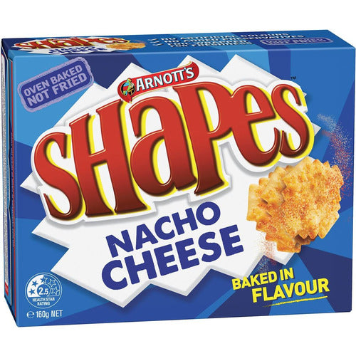 Shapes Biscuits - Nacho Cheese