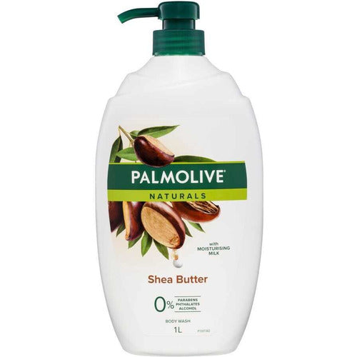Palmolive Naturals Body Wash Shea Butter Shower Gel 1L