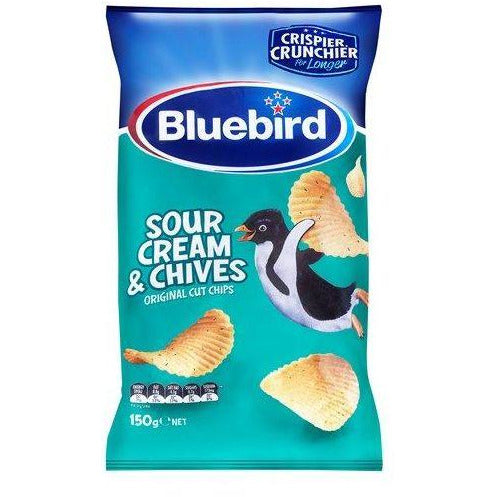 Bluebird Chips 150g - Sour Cream & Chive