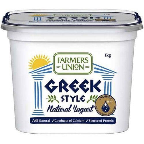 Farmers Union Greek Yoghurt 1kg