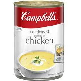 Campbell's Canned Soup Cream Of Chicken 420g