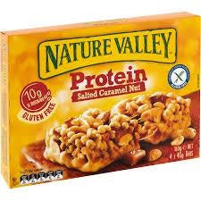 Nature Valley Protein Bar Salted Caramel Nut 160g