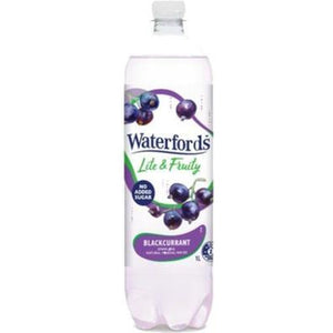 Waterfords Blackcurrant Sparkling Mineral Water 1L
