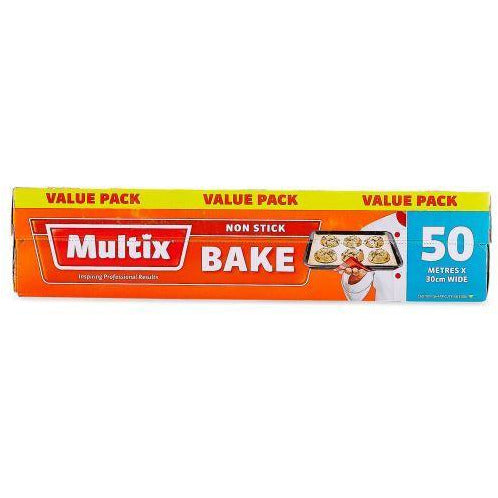 Multix Baking Paper 30cm Wide - 50M