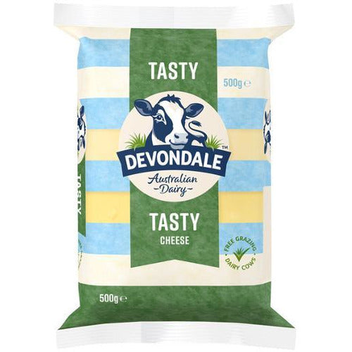 Devondale Tasty Cheese Block 500g