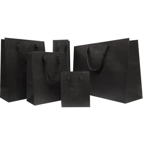 Gift Bag with Handles - Black