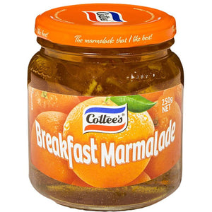 Cottee's Breakfast Marmalade 250g