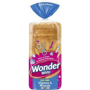 Wonder White Toast Loaf Vitamins & Minerals 700g