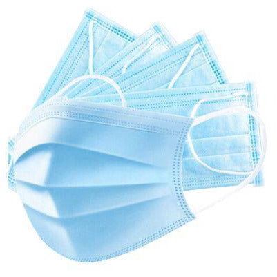 Protectaware Face Mask 3 Ply 50/box