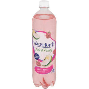 Waterfords Apple Berry Sparkling Mineral Water 1L