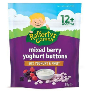 Rafferty's Yoghurt Buttons Mixed Berry 28g